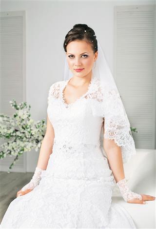 Beautiful And Fashion Bride