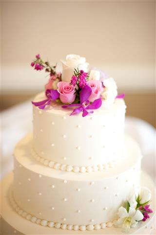 Wedding Cake Layered Three Tier