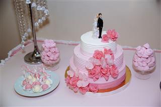 Wedding Cake Candy Bar Marshmallow