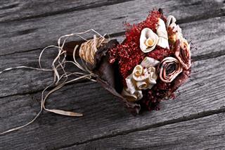 Dry Flower Wedding Bouquet