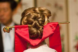 Brides Hair At Paebaek