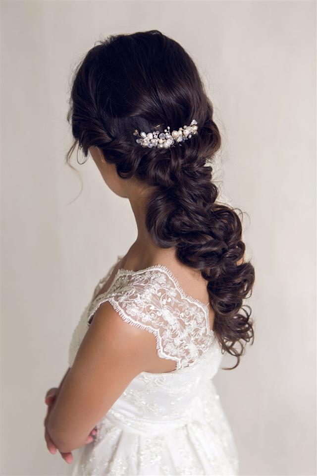 Bride In Wedding Dress Style