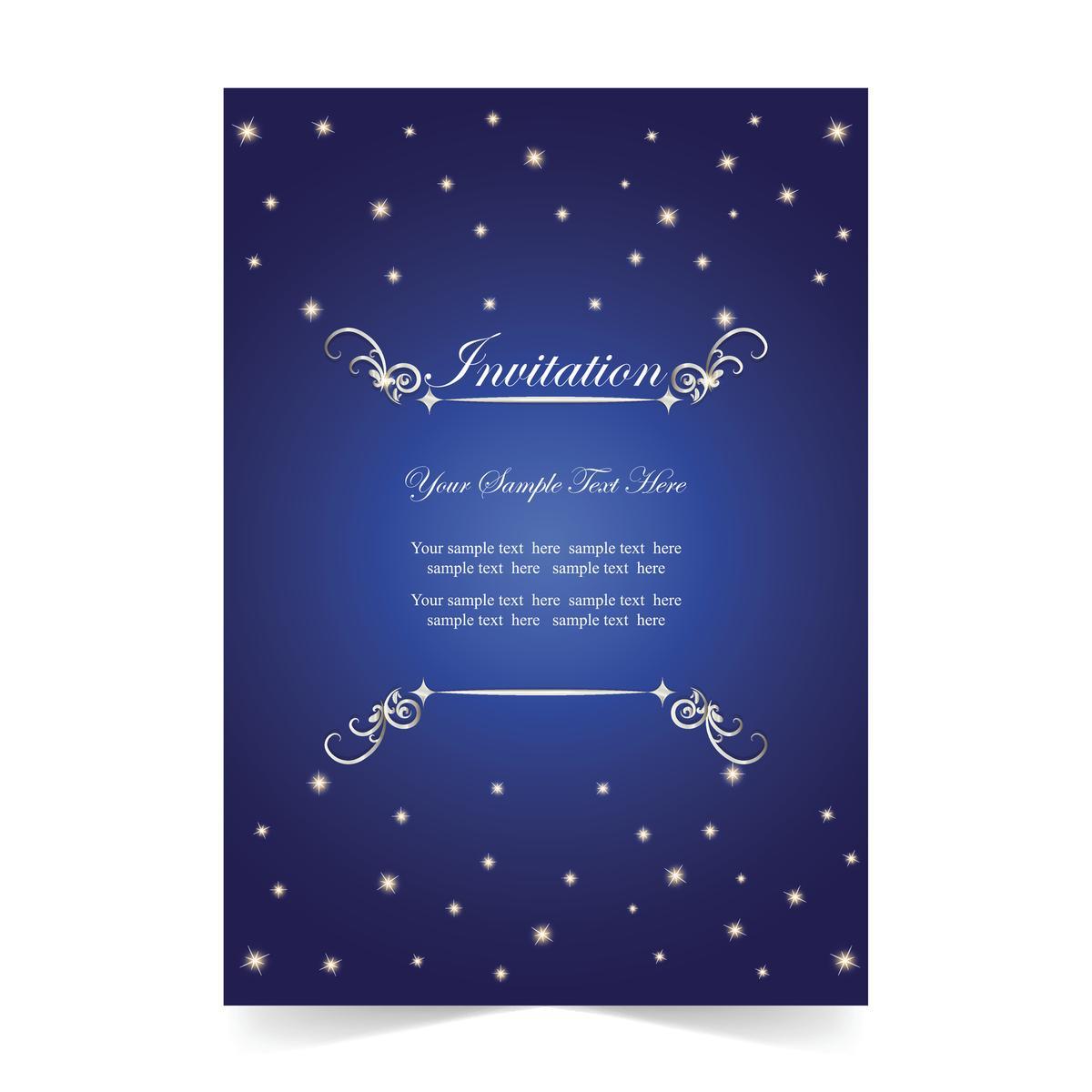 Outstanding wording samples for wedding reception invitations blue invitation card stopboris Choice Image