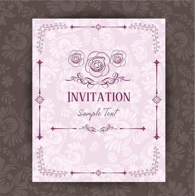 Beautiful Invitation Card
