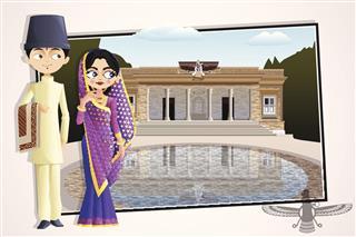 Parsi Wedding Couple