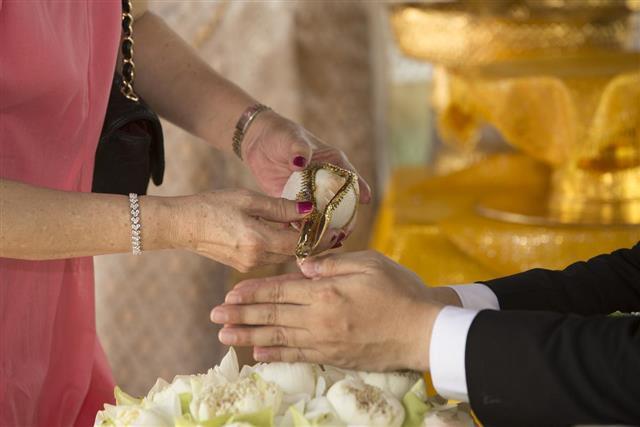 Thai culture wedding