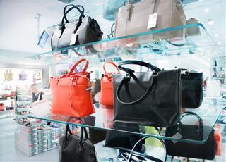 Handbags In Store