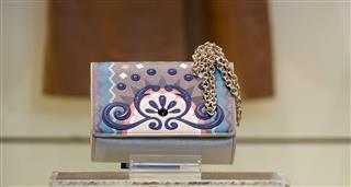 Abstractly Colored Handbag