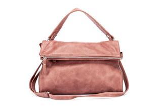 Elegant Brown Leather Womans Handbag