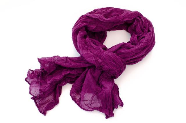 Purple Color Scarf