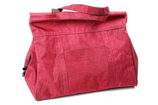 Big Maroon Ladies Handbag