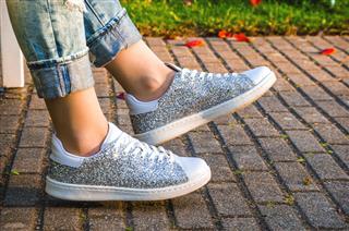 Shiny Female Shoes