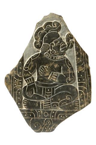 Replica Of Mayan Stela