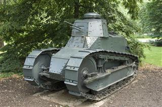 Ww1 Military Tank