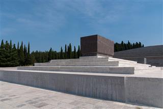 Military Cemetery In Redipuglia