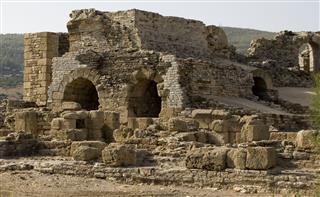 Roman Ruin Baelo Claudia In Spain