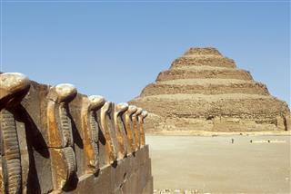Step Pyramid In Saqqara
