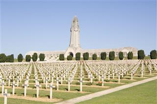 Ww1 Verdun Military Cemetery France