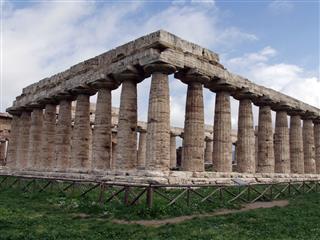 Paestum Temple Italy