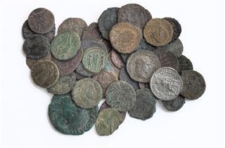 Ancient Roman Coin Hoard