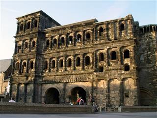 Roman Porta Nigra In Trier