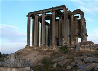Temple Of Zeus At Aizanoi