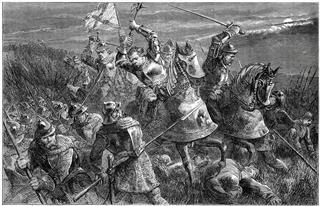 Battle Of Otterburn 1388