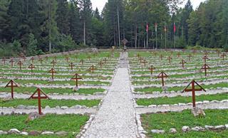 Austrian Cemetery From World War One