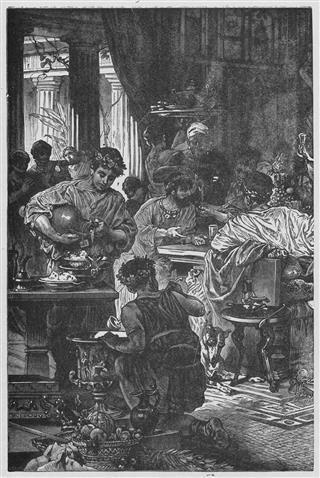 Roman Banquette