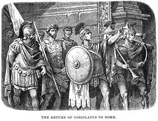 Coriolanus Return To Rome