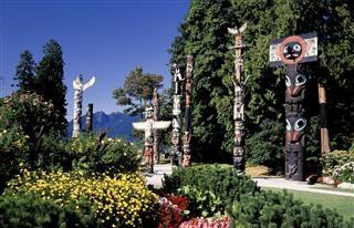 Stanley Park Totem Pole Vancouver