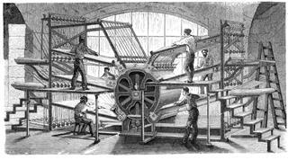 Retro Machinery Printing Press