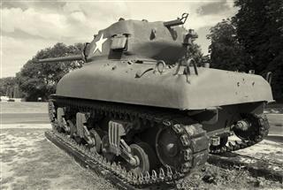 Tank In Colleville Sur Mer