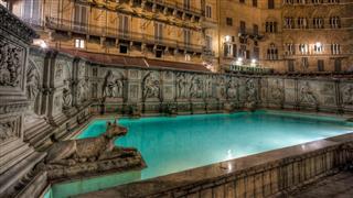 Fonte Gaia Siena Italy