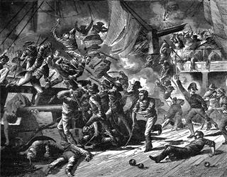 Captain Paul Jones Captures The Serapis