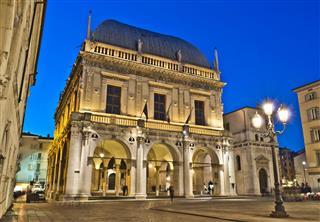 Loggia Square Brescia Italy