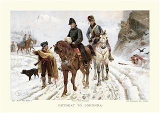 Peninsular War The Retreat To Corunna