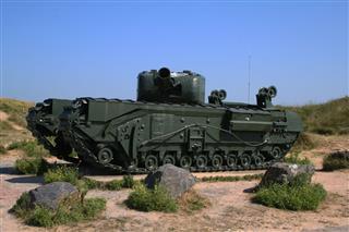 Ww2 D Day Tank
