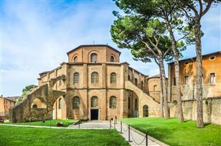 Famous Basilica Of San Vitale