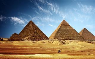 Egypte Pyramide Gizeh