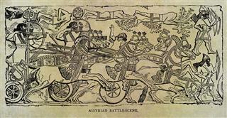 Assyrian Battle Scene