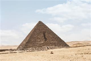 Menkaure Pyramid Desert