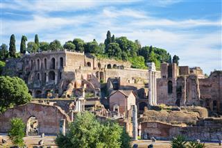 Farnese Gardens Rome Italy