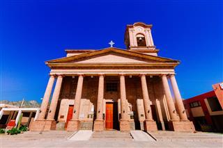 Old Church In Belen Catamarca Argentina