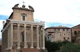 Rome Antoninus And Faustina Temple