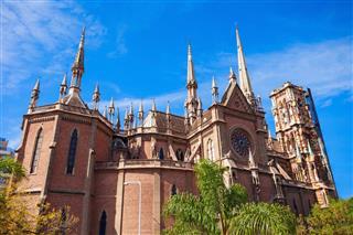 Capuchins Church In Cordoba
