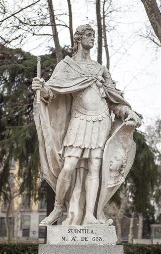 Sculpture Of Suintila King