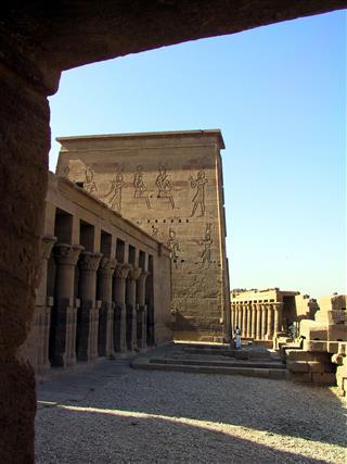 Egypt Aswan Isis Temple