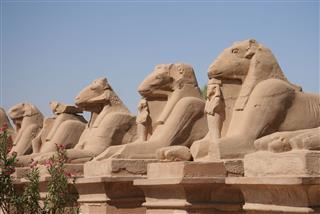 Sculpture From Karnak Temple
