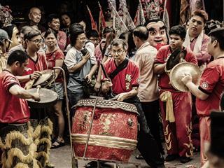 Lion Dance In Kuala Lumpur